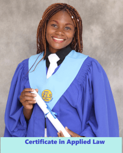 Adelaide karima - Certificate in Applied law
