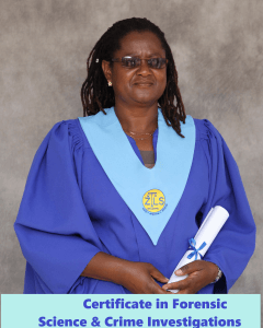 Barbara - Certificate in Forensic Science and Crime Investigation